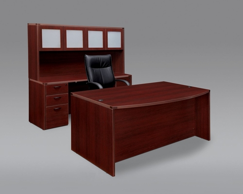 DMI Office Fairplex Mahogany Executive Office Package 1 - 7006-37-21-428