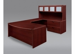DMI Office Fairplex Mahogany Executive Office Package 10 - 7006-537538EB-428