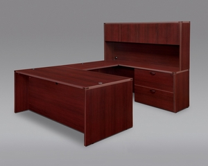 DMI Office Fairplex Mahogany Executive Office Package 11 - 7006-537538E-427