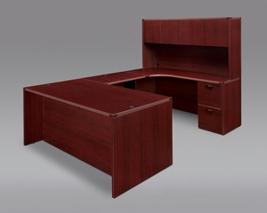 DMI Office Fairplex Mahogany Executive Office Package 13 - 7006-557-427