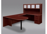 DMI Office Fairplex Mahogany Executive Office Package 14 - 7006-647648E-428