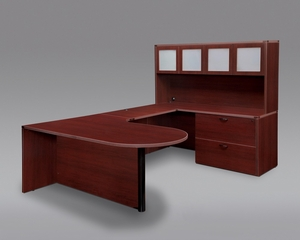 DMI Office Fairplex Mahogany Executive Office Package 15 - 7006-507CP-428