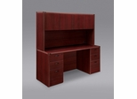 DMI Office Fairplex Mahogany Executive Office Package 3 - 7006-21-427