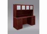 DMI Office Fairplex Mahogany Executive Office Package 4 - 7006-21-428
