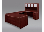 DMI Office Fairplex Mahogany Executive Office Package 7 - 7006-847-428