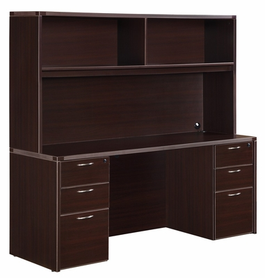 DMI Office Fairplex Mocha Executive Office Package 1 - 7004-21-426
