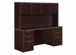 DMI Office Fairplex Mocha Executive Office Package 2 - 7004-21-427