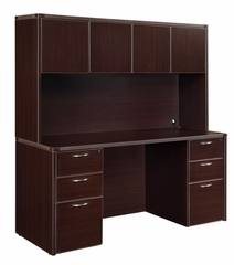 DMI Office Fairplex Mocha Executive Office Package 4 - 7004-19-927