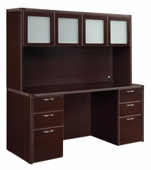 DMI Office Fairplex Mocha Executive Office Package 5 - 7004-19-928