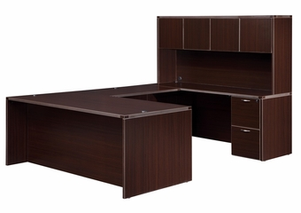 DMI Office Fairplex Mocha Executive Office Package 6 - 7004-5758E-427