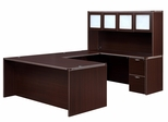 DMI Office Fairplex Mocha Executive Office Package 7 - 7004-5758E-428