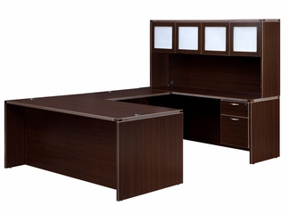 DMI Office Fairplex Mocha Executive Office Package 9 - 7004-5758EQ-428