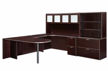 DMI Office Fairplex Mocha Office Package 12 - 7004-707G