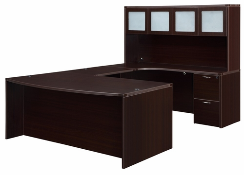 DMI Office Fairplex Mocha Office Package 8 - 7004-557B-428
