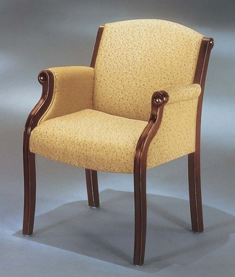 DMI Office Guest Chair in Soft Gold Fabric - Executive Office Furniture / Home Office Furniture - 6855-2108