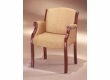 DMI Office Guest Chair with English Cherry Frame - Traditional Office Furniture - 6855-2105