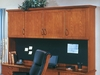 DMI Office Hutch with Full Return Crown Moulding - Transitional Office Furniture - 7130-63