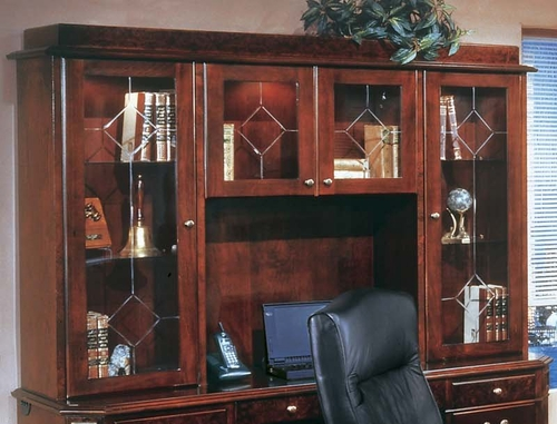 DMI Office Hutch with Glass Doors 7376-62