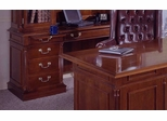 DMI Office Kneehole Credenza - Traditional Office Furniture - 7990-21
