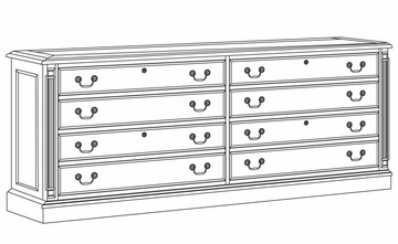 DMI Office Lateral File Credenza - 7990-26