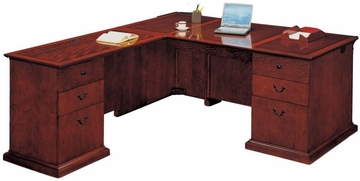 DMI Office Left Executive L-Shaped Desk - Executive Office Furniture / Home Office Furniture - 7302-48