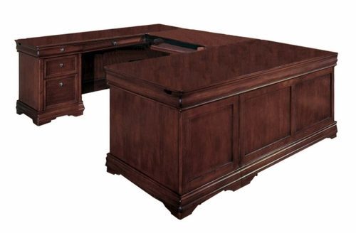 DMI Office Left Executive U-Shaped Desk - 7684-58