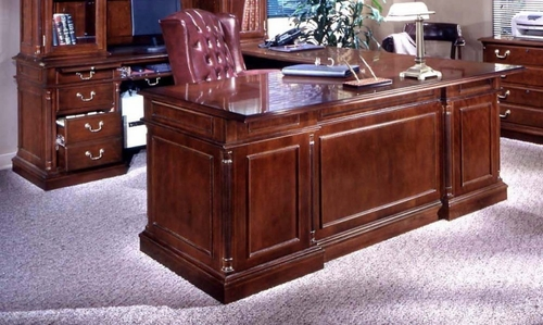 DMI Office Left Executive U-Shaped Desk - Traditional Office Furniture - 7990-38