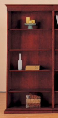 DMI Office Left Hand Facing Bookcase - Executive Office Furniture / Home Office Furniture - 7302-118