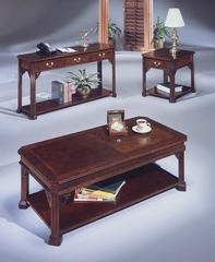 DMI Office Occasional Tables Set in Mahogany
