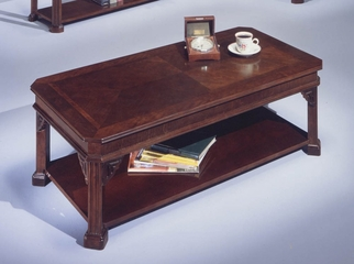 DMI Office Rectangular Cocktail Table in Mahogany - 7350-84