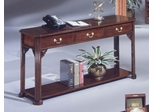 DMI Office Rectangular Sofa Table in Mahogany - 7350-82