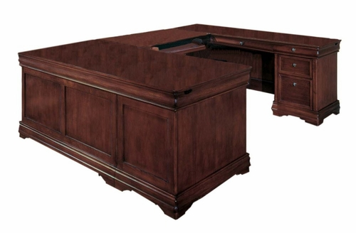 DMI Office Right Executive U-Shaped Desk - 7684-57