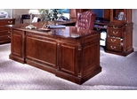 DMI Office Right Executive U-Shaped Desk - Traditional Office Furniture - 7990-37