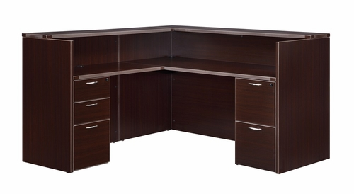 DMI Office Right/Left Reception Desk - 7004-6667
