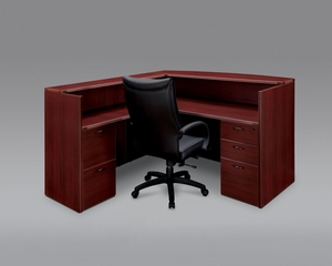 DMI Office Right/Left Reception Desk - 7006-6667