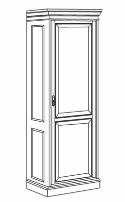 DMI Office Single Door Wardrobe - 7990-05