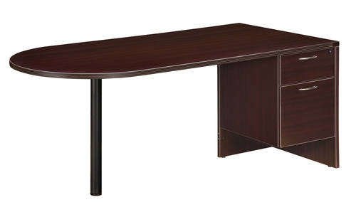DMI Office Three-Drawer Sales Desk - 7004-3233Q