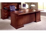 DMI Office Traditional Left Executive U-Shaped Desk - 7462-79