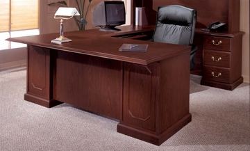 DMI Office Traditional Right Executive U-Shaped Desk - 7462-78