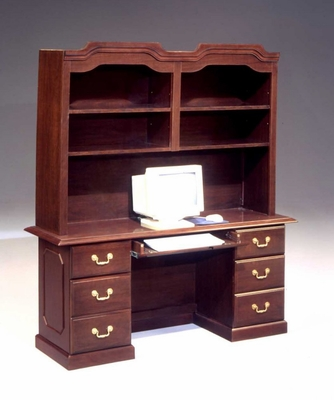DMI Traditional Office Credenza and Hutch -7350-21-44