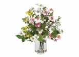 Dogwood Silk Flower Arrangement in Asst - Nearly Natural - 4687
