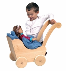 Doll Buggy in Natural - Guidecraft - G98106