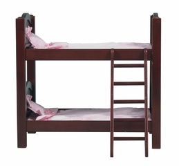 Doll Bunk Bed in Espresso - Guidecraft - G98117