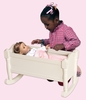 Doll Cradle - White - Guidecraft - G98128