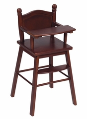 Doll High Chair in Espresso - Guidecraft - G98105