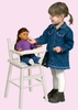 Doll High Chair - White - Guidecraft - G98123