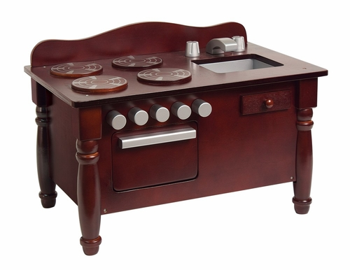 Doll Play Kitchen in Espresso - Guidecraft - G98121