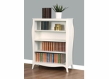 Dominique Bookcase in White - 400568