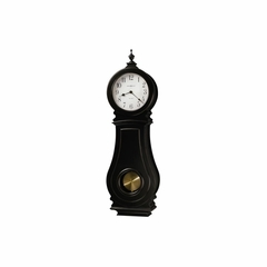 Dorchester Quartz Worn Black Wall Clock - Howard Miller