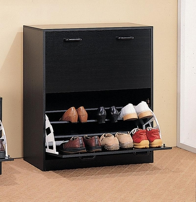 Double Cappuccino Shoe Rack - 900629